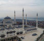 پخش شدن صدای اذان در محوطه مسجد ایاصوفیه ترکیه + فیلم